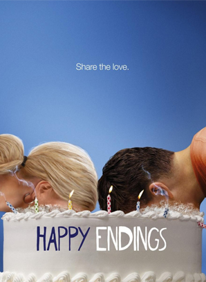 inout happy endings sitcom | Metalarte