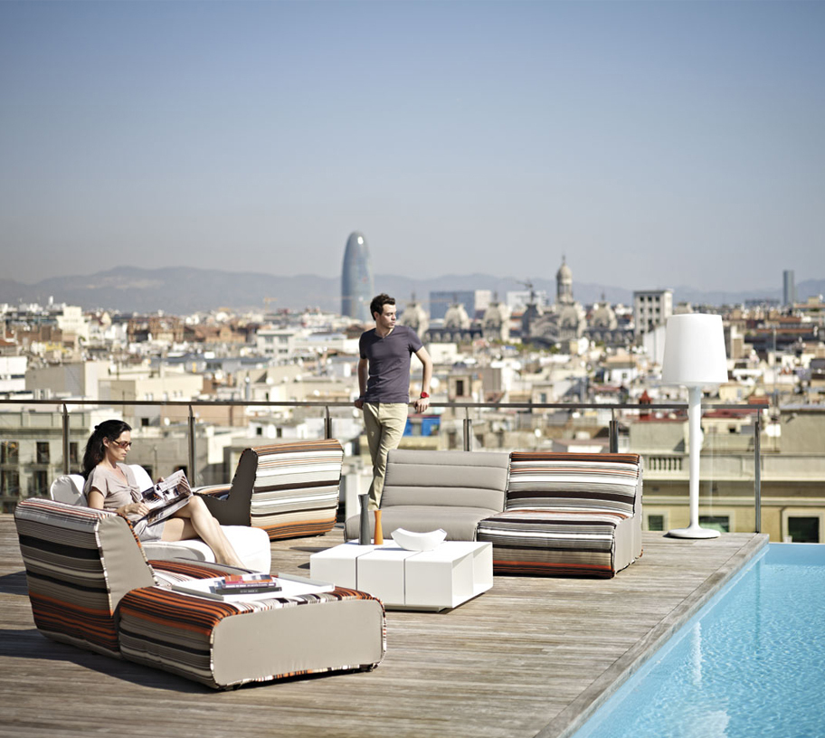 inout grand hotel central barcelona | Metalarte