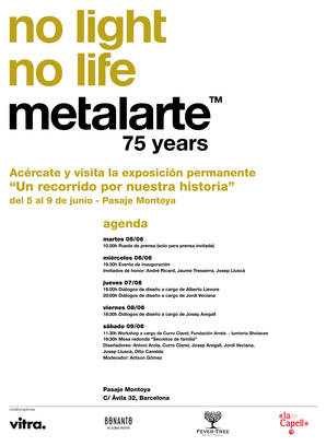75th anniversary | Metalarte